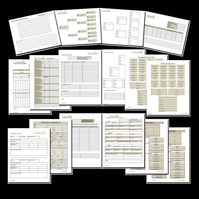 pedigree chart template