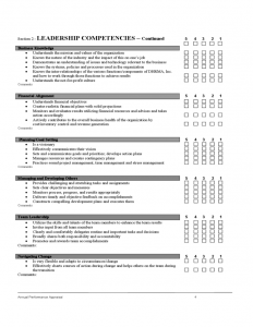 performance evaluation template employee evaluation form sample l