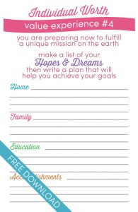 personal develop plan examples individual worth