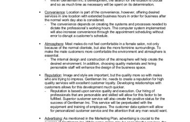 personal development plans example student project business plan competition entry in spring
