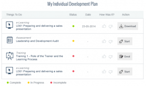 personal development plans examples pdp