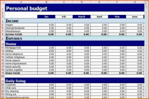 personal finance worksheets personal budget spreadsheet