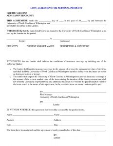 personal loan agreement pdf personal loan agreement template pdf
