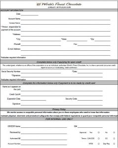 personal loan agreement templates credit application