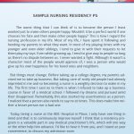 personal mission statements templates nursing residency personal statement sample