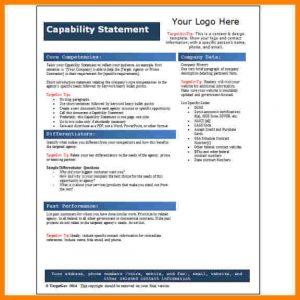 personal statement graduate school sample free capability statement template word