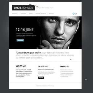 personal website template bcss