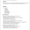 phlebotomy resume sample chemistry lab technician