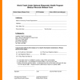 photography contract template standard medical records release form