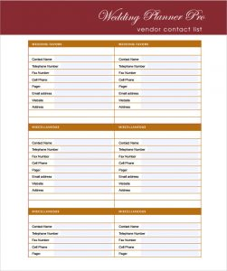 photography contract template wedding ceremony template