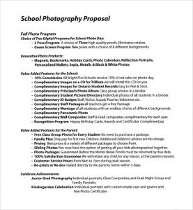 photography proposal template photography proposal template pdf