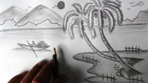 photos to pencil sketches beautiful nature pencil drawings tag beautiful pencil drawings of nature scenes drawing and sketches