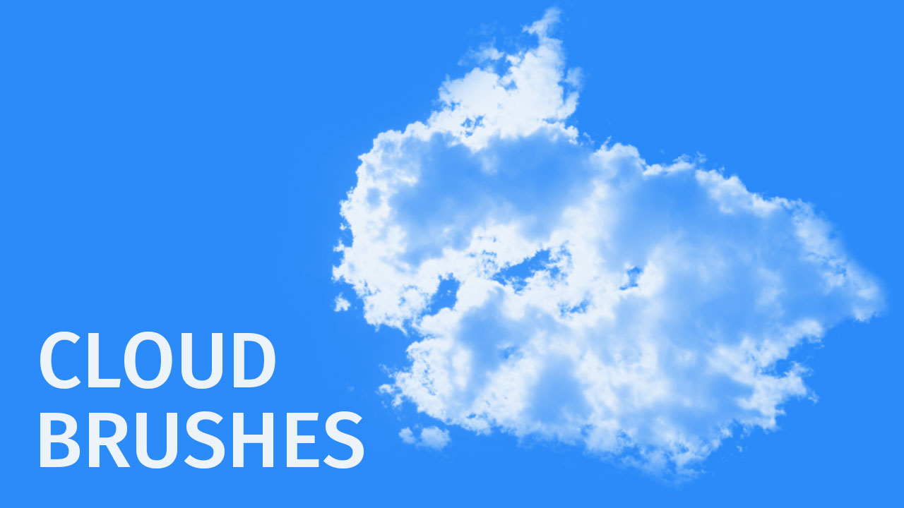 photoshop cloud brushes