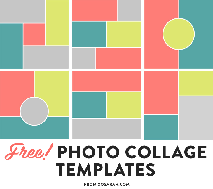 photoshop collage template