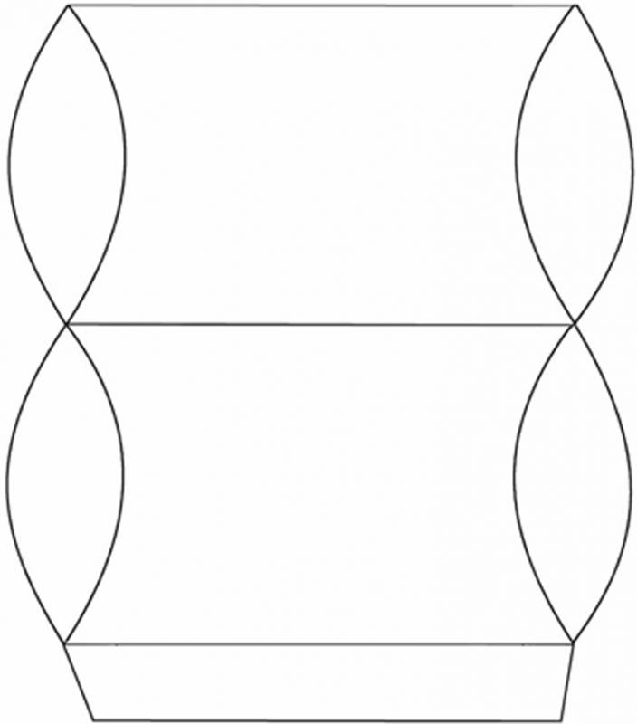 pillow box template