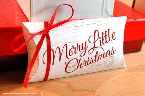 pillow box templates gift boxes printable