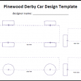 pinewood derby car templates pinewood derby car template icon