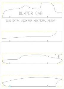 pinewood derby cars designs templates pinewood derby bumper plan template