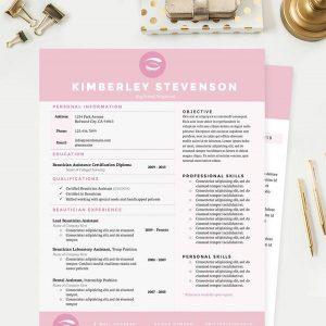 plain menu template crisp pink resume template grande
