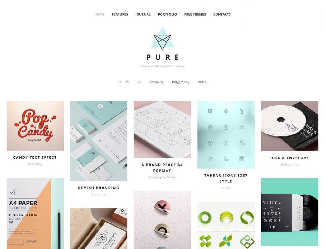 plain menu templates