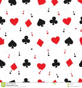 playing cards template playing cards seamless background pattern