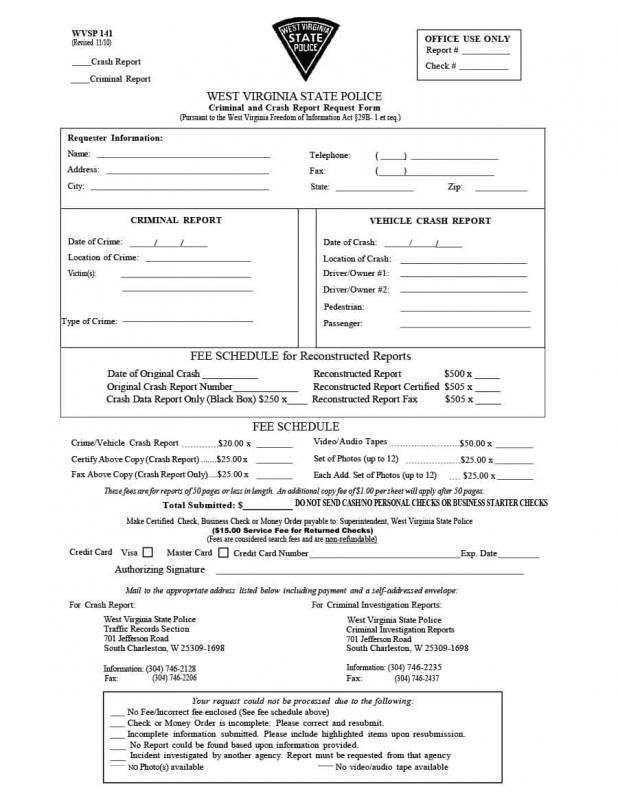 police report sample