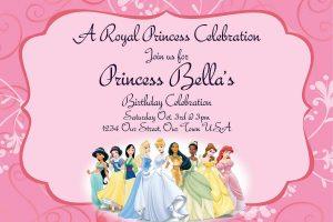 pool party invitation templates printable princess party invitations