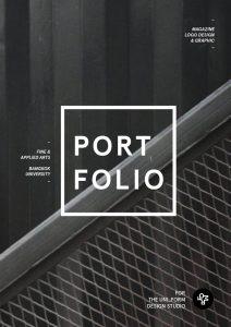 portfolio cover design ecebae portfolio cover design portfolio ideas
