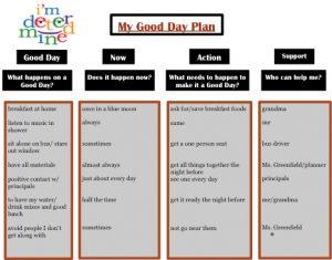 positive behavior support plan good day plan