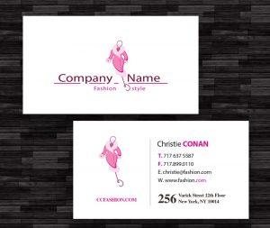 postcard template photoshop boutique business card mock
