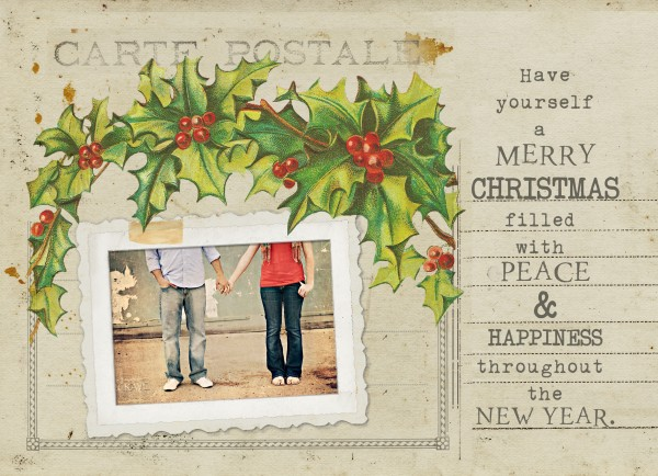 Postcard Template Photoshop | Template Business