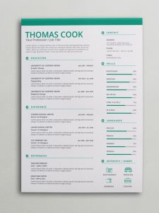 poster template word green docx resume x