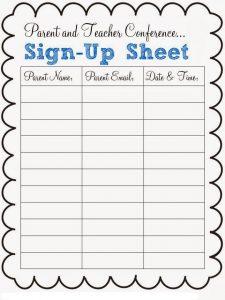 pot luck sign up sheet potluck dinner sign up sheet for teachers and parents