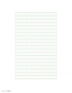 power of attorney letter sample genkouyoushi paper template l
