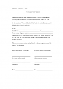 power of attorney letter sample power of attorney letter template buvafmw
