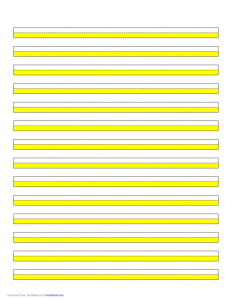 power of attorney sample letter highlighter paper yellow lines l