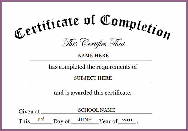 ppt certificate template