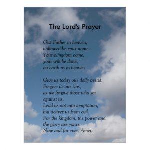 prayer cards template scripture template the lords prayer poster reaabdecfbdfeeae xuc byvr