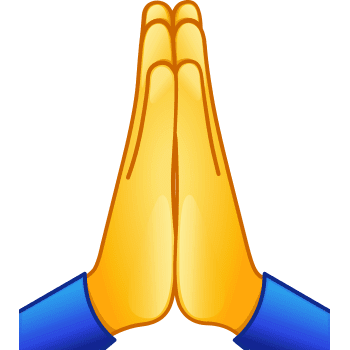 praying emoji copy and paste