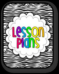 prek lesson plan template lesson plans