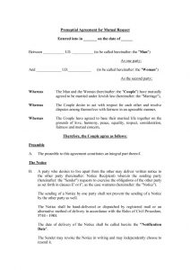 prenuptial agreement templates prenuptial agreement template