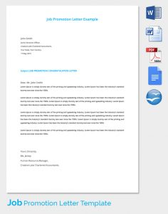 press release format template job promotion template
