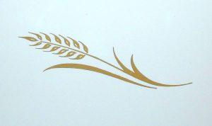print out stencils corning wheat pattern