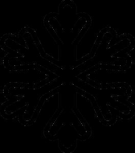 print out stencils snowflake