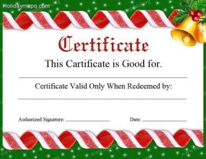 printable christmas gift certificates gift certificate template free map holiday travel christmas certificates templates free christmas certificates templates free