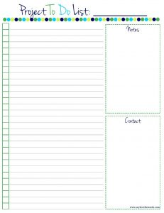 printable daily to do list project to do list free printable within free printable to do list