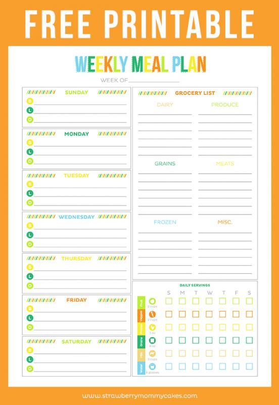 printable daily to do list