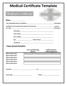 printable doctors note for work printable medical certificate template