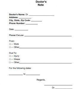 printable fake doctors notes free free doctor note excuse templates template lab with regard to printable fake doctors notes free