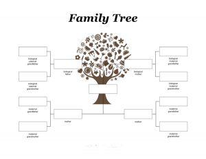 printable family tree family tree template